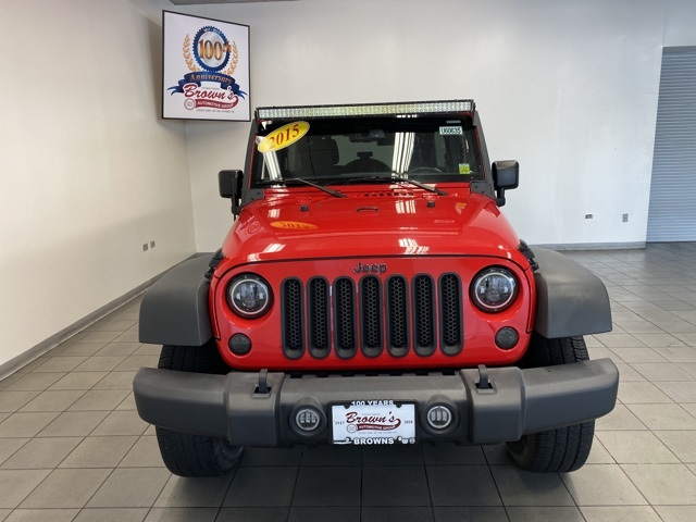 Pre-Owned 2015 Jeep Wrangler Unlimited Sport PAINTED TOP