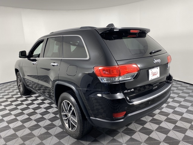 Pre-Owned 2017 Jeep Grand Cherokee Limited