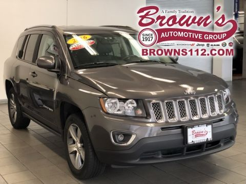 Pre-Owned 2016 Jeep Compass High Altitude