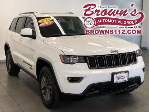 Pre-Owned 2016 Jeep Grand Cherokee 4X4 75TH EDITION CERTIFIED 100K WARRANTY