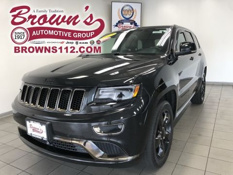 Pre-Owned 2015 Jeep Grand Cherokee OVERLAND High Altitude